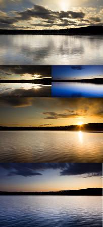 唯美自然风光延时摄影视频