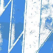 几何形斑驳蓝底素材