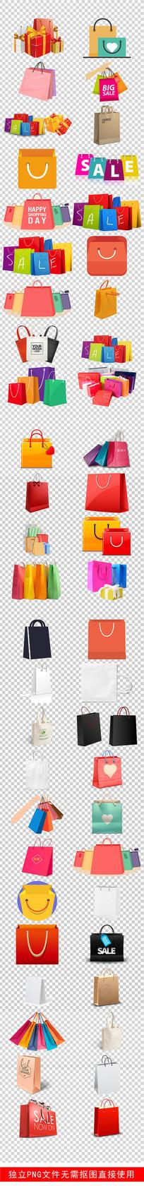 猪年2019购物袋礼品袋素材