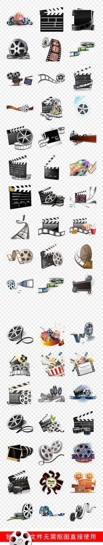 电影胶片胶卷胶带边框素材