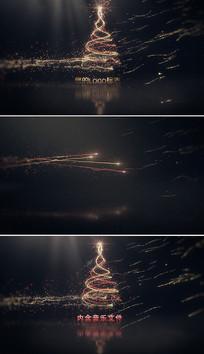 圣诞节新年节日庆祝片头模板