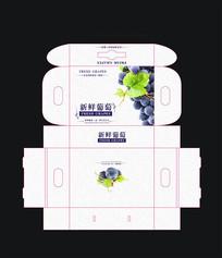 水果葡萄包装设计