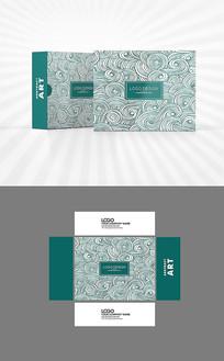 中国风祥云包装盒设计