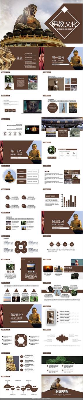 佛学佛教文化PPT模板