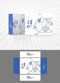几何图案包装盒设计