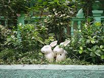 兔子景观小品雕塑