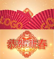 恭贺新春节日片花AE模板