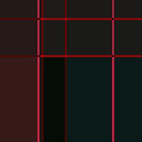 红色布纹条格布料印花