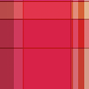 红色格子底纹印花布料