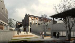 新中式学校建筑