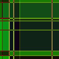 绿色方格布料底纹图案