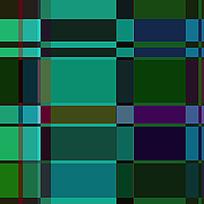 绿色格子布料底纹印花