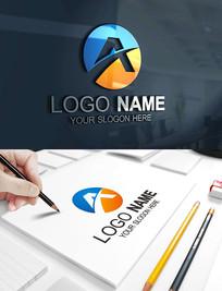 A字母建筑科技金融LOGO