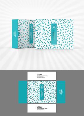 蓝色清新包装设计