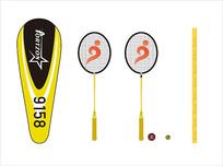 羽毛球系列包装设计