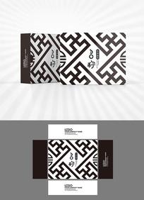 中国风图案包装盒设计