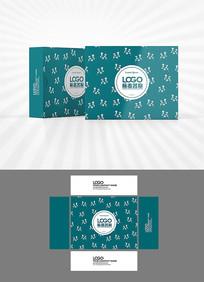 矢量花紋包裝盒設計