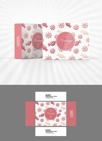 糖果图案包装盒设计