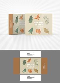 叶子图案包装设计