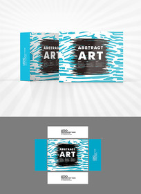 手绘涂鸦包装盒设计