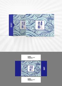 中式祥云包装盒设计