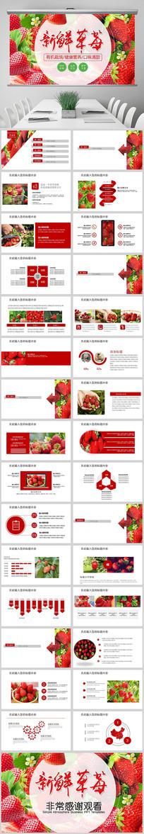 水果草莓园农产品种植PPT