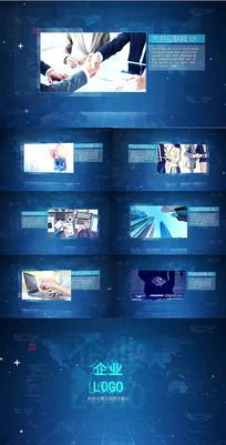 互联网高科技企业宣传AE模板