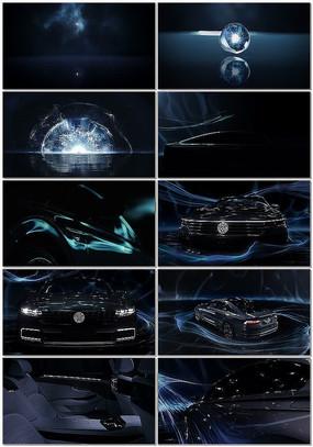 科技感汽车展示视频