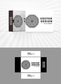 图腾图案包装盒设计
