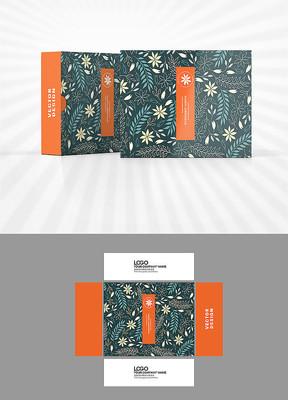 小花小草背景图包装设计