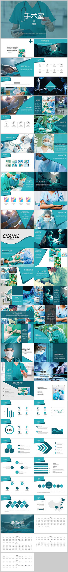 医疗护士手术工作汇报PPT