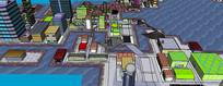 动画城市场景