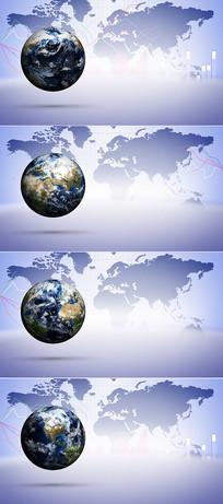 4K地球高清背景视频