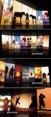 8款三维空间图片展示视频模板