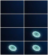 HUD界面动画设计视频素材