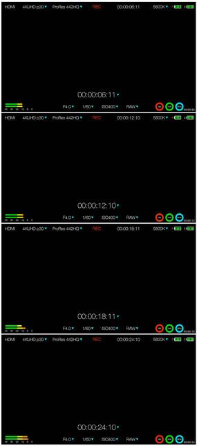 摄像机录制窗口视频素材