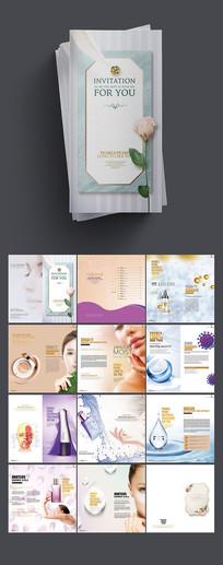 时尚大气化妆品画册