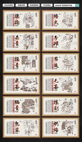 传统茶文化展板设计