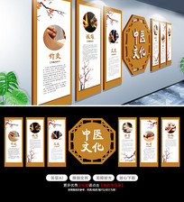 中医文化墙挂画医院文化墙
