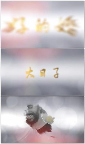 婚礼片头相册AE模板