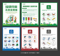 垃圾分类海报设计