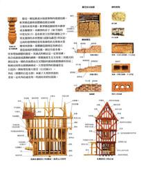 西方古典木架构房子
