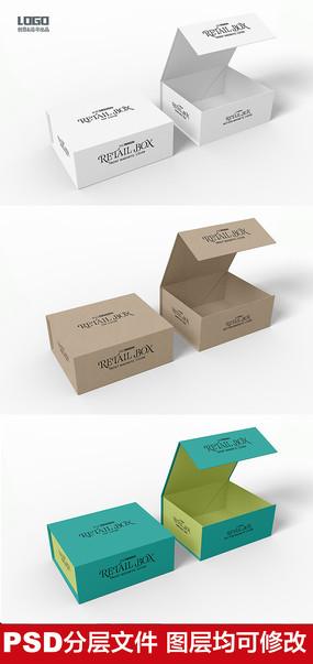 包装盒样机