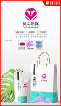 浪漫天鹅logo设计商标