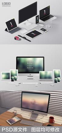 苹果设备样机效果图