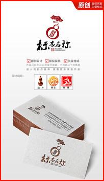 祥云葫芦logo设计商标设计