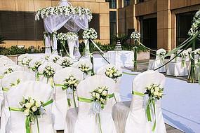 西式婚礼花卉景观