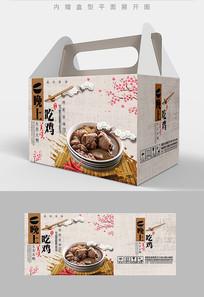 香菇炖鸡鸡肉菜品包装设计