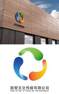 彩環廣告公司logo設計