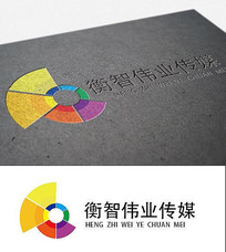衡智伟业传媒logo